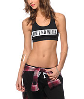 Dime By Dimepiece LA Ain't No Wifey Crop Tank Top