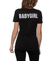 Dime By Dimepiece LA Babygirl V-Neck T-shirt