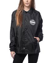 Dimepiece Worldwide Black Coaches Jacket