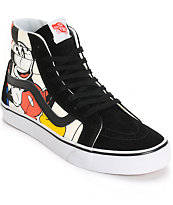 Disney x Vans SK8 Hi Mickey & Friends Skate Shoes
