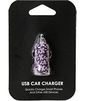 Ditsy Floral USB Car Charger