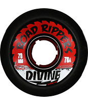 Divine Road Rippers 70mm Black 78a Skateboard Wheels