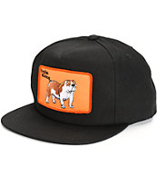 Dog Limited English Bulldog Snapback Hat