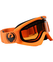 Dragon DX 2013 Matte Orange & Amber Snowboard Goggles