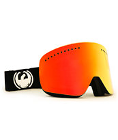 Dragon NFX Black Coal & Red Ionized 2014 Snowboard Goggles