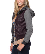 Dravus Ashland Black Cherry Varsity Jacket