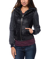 Dravus Ashland Black Varsity Jacket