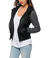 Dravus Ashland Quilted Sleeve Bomber Jacket