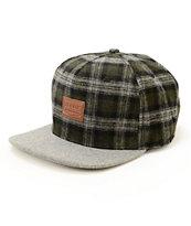 Dravus Cascades Flannel Strapback Hat