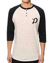 Dravus Dumdiddydum Henley Baseball T-Shirt