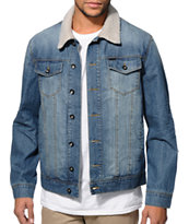 Dravus Edger Sherpa Denim Jacket
