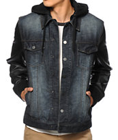 Dravus Edgewood Dirty Denim Jacket