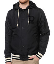 Dravus Fraser Black Insulated Varsity Jacket