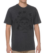 Dravus Geronimo Charcoal Tee Shirt