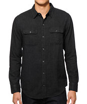 Dravus Get Ready Herringbone Button Up Shirt