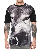 Dravus Hondo Wolf Print T-Shirt