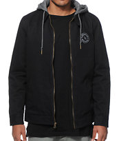 Dravus Luther Black Canvas Jacket