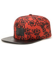 Dravus No One Ever Red Strapback Hat