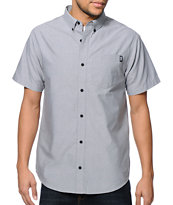 Dravus Noted Grey Button Up Shirt