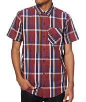 Dravus Ohio Madras Plaid Button Up Shirt