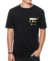 Dravus Old Glory Pocket Tee Shirt
