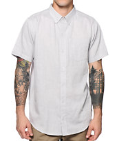 Dravus Shifty Grey Button Up Shirt