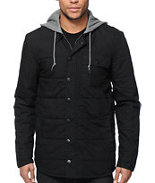 Dravus Spin Quilt Hooded Jacket