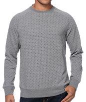Dravus Stabbin' Grey Crew Neck Sweatshirt