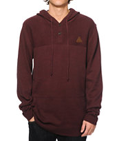 Dravus Stories Hooded Henley Sweater