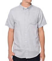 Dravus Take It In Blue Light Blue Woven Button Up Shirt