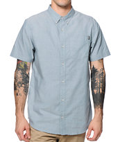 Dravus Tanked Chambray Button Up Shirt