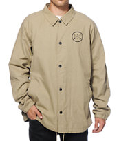 Dravus Teamwork Canvas Coach Jacket