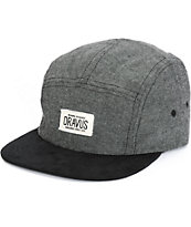 Dravus Theo Chambray 5 Panel Hat
