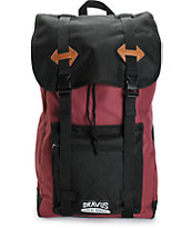Dravus Traverse Burgundy Backpack