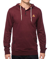 Dravus Yupa Hooded Henley Shirt