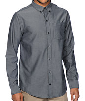 Dravus Zander Charcoal Oxford Button Up Shirt