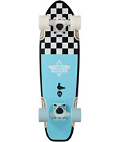 "Dusters Bird Checker 25"" Cruiser Complete Skateboard"