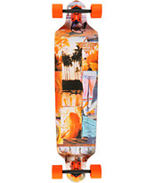 Dusters Cali Days 41.25 Neon Drop Down Complete Longboard
