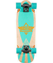 Dusters Cazh Turquoise Complete Cruiser Board
