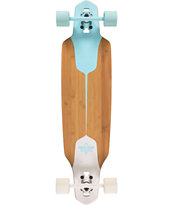 Dusters Channel Blue & White Drop Through 38 Longboard Complete