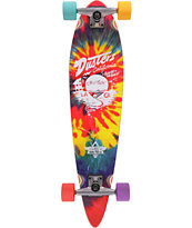 Dusters Cruisin Tie Dye Mini Pin 31.5 Cruiser Complete Skateboard