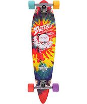 Dusters Cruisin Tie Dye Mini Pin 31.5 Cruiser Complete Skateboard