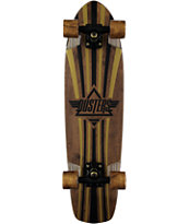 "Dusters Keen V-Ply Gold 31"" Cruiser Complete Skateboard"