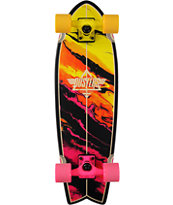 "Dusters Kosher Sunset 28"" Cruiser Complete Skateboard"