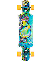 "Dusters Kraken 38.5"" Drop Through Longboard Complete"