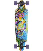 "Dusters Kraken Drop Through 38"" Longboard Complete"