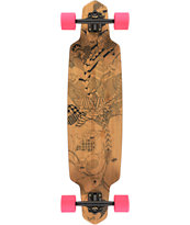 "Dusters Lella Bamboo Drop Through 38"" Longboard Complete"
