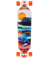Dusters Shorebreak 41.25 Neon Drop Down Complete Longboard