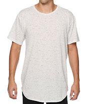 EPTM Basic Elongated Oreo Drop Tail Long T-Shirt