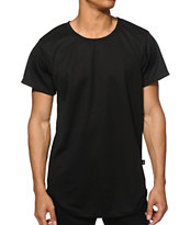 EPTM Basic Mesh Drop Tail T-Shirt